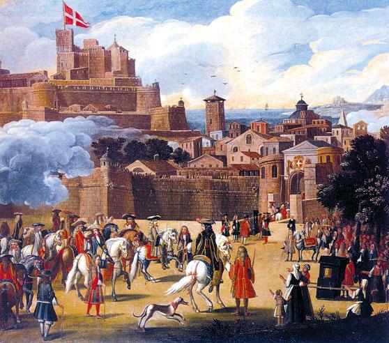 Victor Amadée II enters Nice in 1694