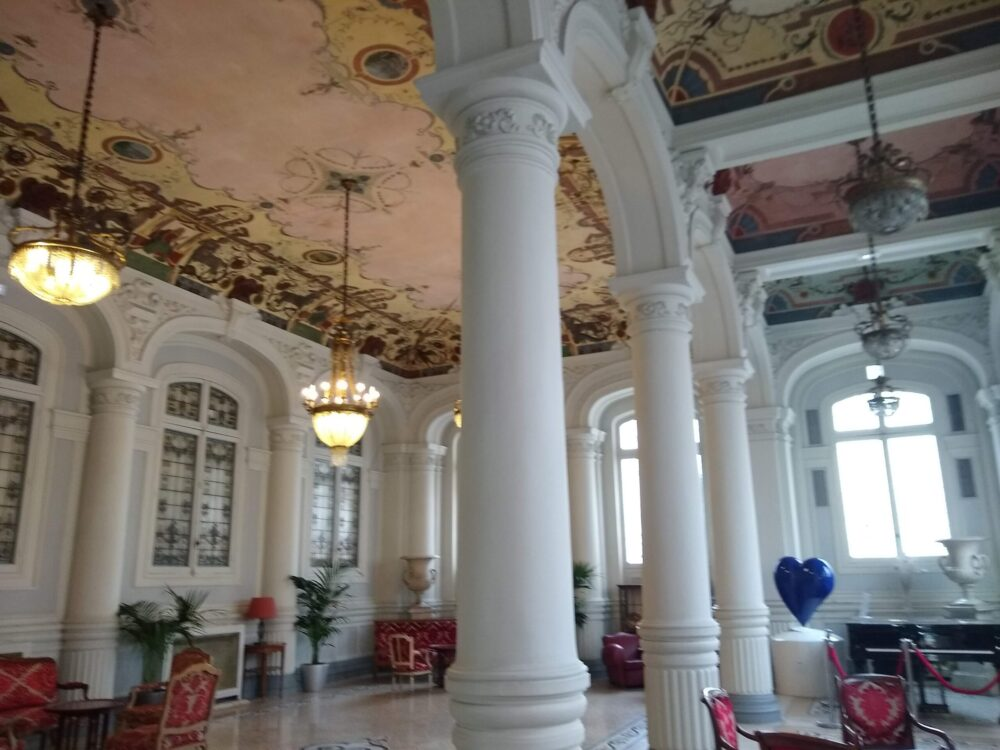 Interior of Westminster hotel